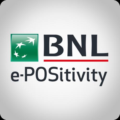 Modulo di pagamento BNL ePOSitivity