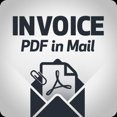 Modulo Fattura PDF in Email
